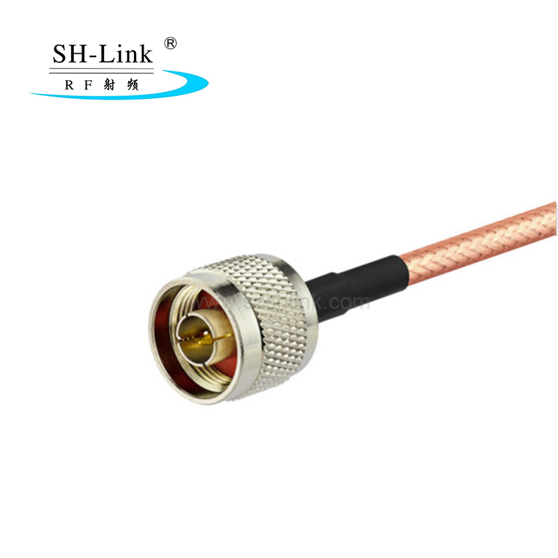custom coaxial cable,N male to BNC male with RG316 cable assembly