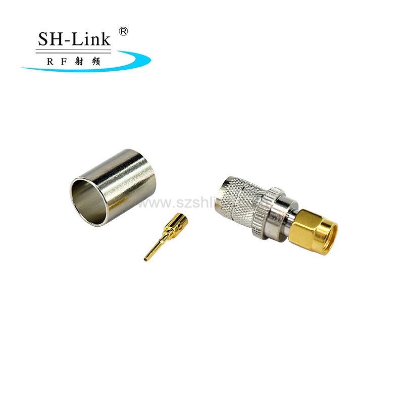 SMA with female pin connector for LMR240 LMR400 cable