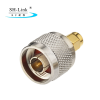 50 ohm Brass N type male to SMA male adapter RF Coaxial Adaptor