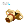 IP67 BMA female flange connector 2 holes for RG086