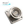 7/16 Din 4 Hole Panel Mount Jack RF coaxial connector with Solder Cup