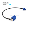Fakra C right angle female-male coaxial cables